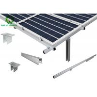 China Corrosion Prevention Ground PV Mounting Brackets Unique And Exclusive on sale