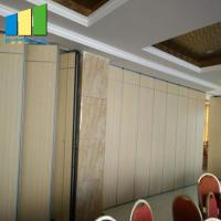 Buy cheap Ballroom Sound Proof MDF Board Acoustic Movable Partition Walls from wholesalers