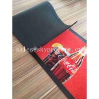 China Colorful Molded Rubber Products Home Pub Bar Mat , Personalized Beer Drip Kitchen Rubber Mats wholesale