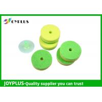 China Multicolor Double Sided Kitchen Cleaning Pad With Suction Cup Pack HK0290B wholesale
