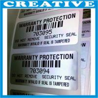 China tamper evident security tape void label wholesale