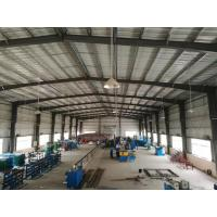 China Pre Fab Steel Building Workshop / Steel Frame House ISO9001 Approved wholesale