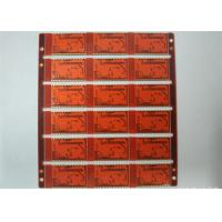 Buy cheap 4L Industrial PCB Printed Circuit Board Red Soldmask White Silkscreen Support from wholesalers