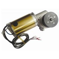 Wholesale CW And CCW Round Brushed DC Automatic Sliding Door Motor 24V DC Worm Gear Box Long shaft from china suppliers