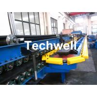 China Automatic Stacker Double Belt Type Polyurethane Sandwich Panel Forming Machine For Making Roof & Wall Panels wholesale