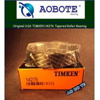 China Sealed 2RS Timken Taper Roller Bearings 14276 , Single Row Axial Load Bearing wholesale