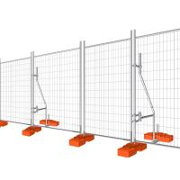 China Temporary Fencing Panel Construction Galvanised temporary site security fencing wholesale
