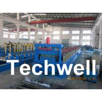 China Steel Structure Floor Deck Roll Forming Machine for Roof Deck, Steel Tile TW-FD1250 wholesale