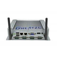 China i5-3337U Fanless Industrial Pc With 6 COM Ports , 2* Gigabit Network Card wholesale