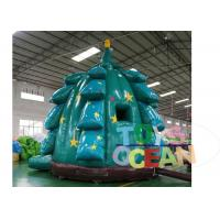 China Hot Popular Inflatable Christmas Tree Bounce Decoration For Festival Promotion wholesale