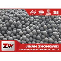 China Chile Copper Mining Forged Grinding Ball  High Hardness Grinding Media Balls wholesale