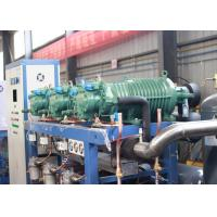 China Parallel Air Cooled Screw Chiller , Semi-hermetic Industrial Water Chiller wholesale