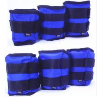 China Wholesales Fitness 1kg 2kg 3kg 4kg 5kg 6kg blue red yellow Weighted Ankle and Wrist sandbag wholesale