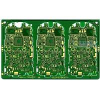 China High Temperature Printed Circuit Boards TG170 , Green Multilayer PCB Board wholesale