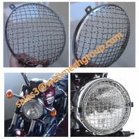 "Wholesale 7"" Motorcycle Headlight Grille Stone Guard from china suppliers"