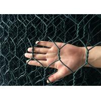 Quality Foldable Green Colour Reno Gabion PVC Coated Wire Mesh Mattress Bunlde Packing for sale