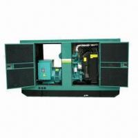 China Generator Set, ≤5% Waveform Distortion, Compact Structure, 1,500 or 1,800rpm Speed wholesale