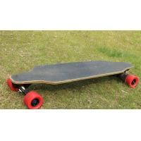 China 80 * 45mm Tire Size electric powered longboard , 20° Slope  lightweight electric skateboard wholesale