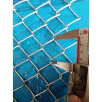 China 2mm 2.5mm Galvanized Chain Link Fence With Diamond Hole 70mm * 70mm wholesale