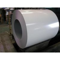 China 1250MM Ral 9006 Prepainted Galvanized Steel Coil For Corrugated Plate Overlay Film wholesale