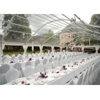 China Transparent PVC Tent Frabic Marquee Tents For Party / Wedding 10m * 20m wholesale
