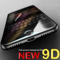 China 9D Curved Edge Tempered Glass On The For iPhone 7 8 Plus X XS Full Cover Screen Protective Glass For iPhone 7 8 6 wholesale