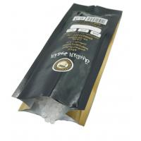 Buy cheap Golden Color Custom Coffee Packaging For Coffee Bean With Valve , Alu Laminated from wholesalers