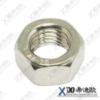 Buy cheap supplying 316L, 904L, stainless steel hex nut M6-M20 in stock from wholesalers