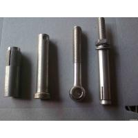 Elevator Hot Dipped Galvanized Bolts Anti Corrosion For Metal Structures