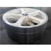 Buy cheap Stainless steel big diameter helical gear wheel High Quality Rolling Mill Parts from wholesalers