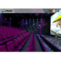 China Cinema 3d Film Sound Vibration Movie Theater Seats With Epson Projector wholesale