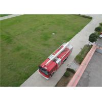 China Boom Extending Time ≤60s Huge Fire Truck With Italian AUTEC Wireless Remote Controller wholesale