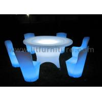 China 6-10 People Using LED Lighting Big Banquet Table With Chairs For PARTY PACKAGE DESCRIPTION wholesale
