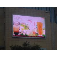 China Outdoor Advertising LED Display LED Business Signs P8 / P10 / P12 wholesale