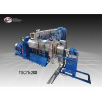 China Twin Stage Cable Extrusion Line / Low Speed Cable Manufacturing Machine wholesale