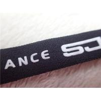 China Professional Polyester Elastic  Cloth Band With Printing Silicone Logo wholesale