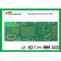 China Green Htg 12 Layer FR4 PCB Printed Circuit Board 3.8mm Thickness wholesale