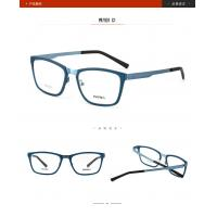 China Multi Color Square Optical Frames / Metal Womens Designer Glasses Young Generation wholesale