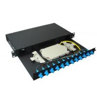 China 4 ports LAN / WAN Sliding Fiber Optic Terminal Box for FTTH Network wholesale