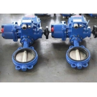 China Stainless Steel ANSI Wafer Butterfly Valve With Manual Wheel wholesale