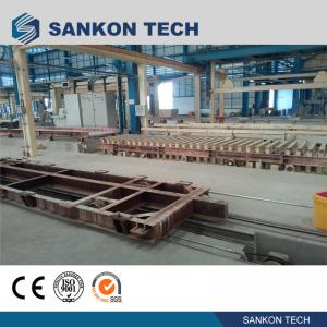 China High Efficient Autoclaved Aerated Concrete Production Line - W600mm Ferry Cart AAC Machine Overturn Table wholesale