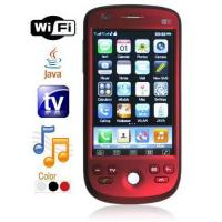 China Quad Band Dual Card Dual Standby TV Cell Phone - WiFi + JAVA + Trackball wholesale