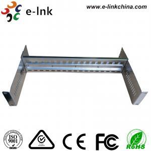 "China 19"" Rack Mount DIN Rail Bracket Media Converter & Ethernet Switch USE wholesale"