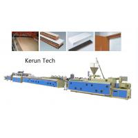 China Window Ceiling Wall Panel Plastic Profile Extrusion Line / PVC Profile Extruder wholesale