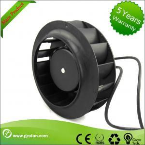 China High Efficiency EC Motor Fan Backward Curved Blower For Hvac 225mm wholesale