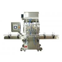 China High Security Shampoo Bottle Filling Machine With Compressing Air Control wholesale