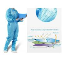 China Antivirus Disposable Medical Protective Clothing , Medical Protective Coverall wholesale