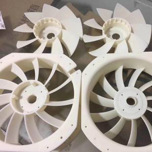 China Corrosion Resistant 300MM SLS Custom 3D Printing Service Flabellum Part wholesale