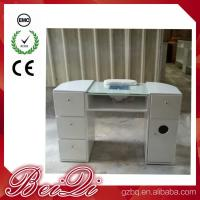 China Beauty Nail Salon Equipment Wholesale Nail Manicure Table with Vacuum Cheap Manicure Station wholesale