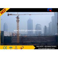China 48m Jib Length / Overhead 4ton Topkit Tower Crane / Construction Crane Machine wholesale